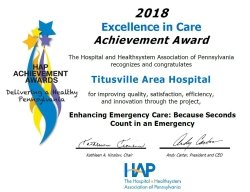 2018 Excellence in Care